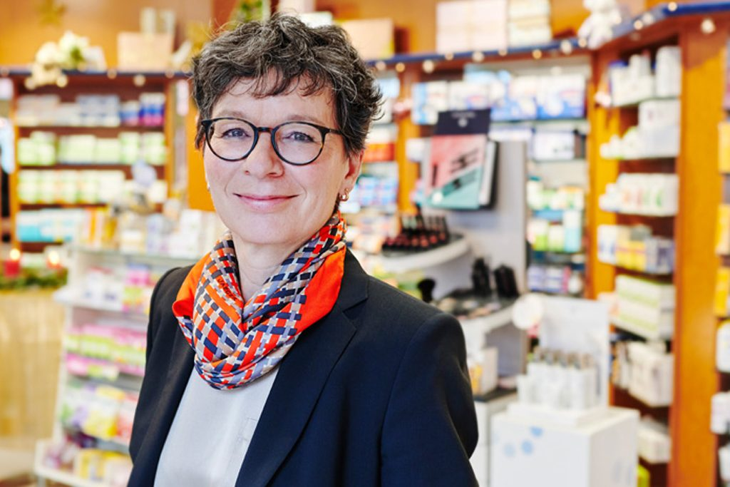 Marion Hill ist Apothekerin mit Leib und Seele. Schon mit 29 Jahren hat sie ihre erste eigene Apotheke eröffnet.